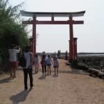 青島神社へ向かいます